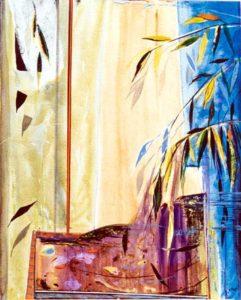 Le jardin d'Adjira. 65 cm x 81 cm 2004