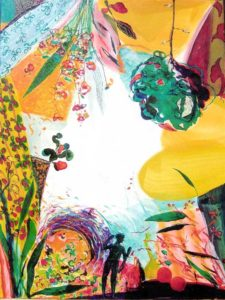 Le Jardin d'Augustalie 54 cm x 73 cm 2006