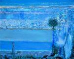 Nos matins bleus, la promenade d'Albertine 27cm x 22cm 2014