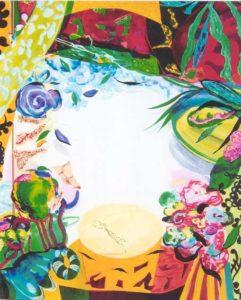Le Jardin d'Audrie 162 cm x 130 cm 2006