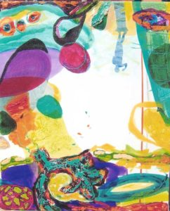 Le jardin d'Aveline 41 cm x 43 cm 2006
