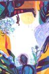 La jardin d'Auberie 146 cm x 89 cm 2006