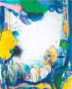 Le Jardin de Bagdadi  46 cm x 36 cm 2006