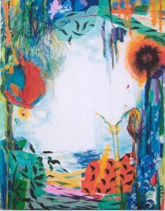 Le Jardin de Bambou 92 cm x 73 cm 2006