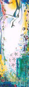 Le Jardin de Bachira 90 cm x 30 cm 2006