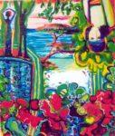 Jardin de Beata 65 cm x 54 cm 2006