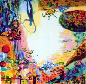 Jardin de Balkis 50 cm x 50 cm 2006