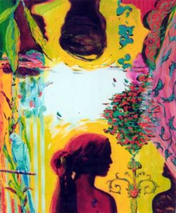 Jardin de Basma 61 cm x 50 cm 2006
