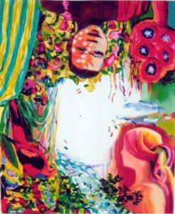 Jardin de Basem  61 cm x 50 cm 2006