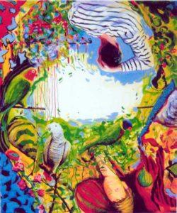 Jardin de Bamboucha 65 cm x 54 cm 2006