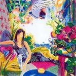 Jardin de Belinda 100 cm x 100 cm 2006