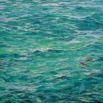 «Le maillot de bain de Claire» 50cm x 50cm 2016