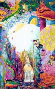 Jardin de Bergamotte 80 cm x 130 cm 2006