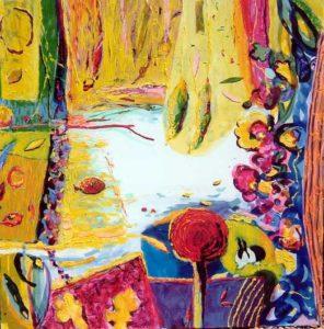 Jardin de Celina 120 cm x 120 cm 2007