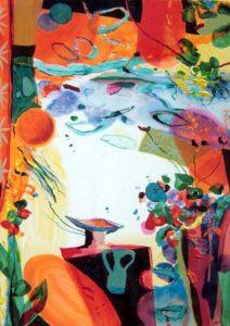Jardin de Calixte 92 cm x 65 cm 2007