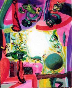 Jardin de Cameron 100 cm x 81 cm 2007