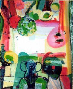 Jardin de Calypso 100 cm x 81 cm 2007