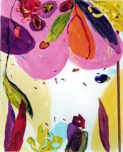 Le jardin d'Amaranthe 40 cm x 50 cm 2005