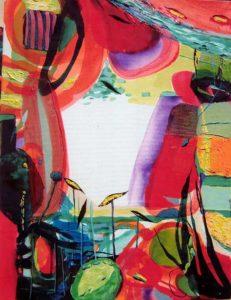 Jardin de Cacilie 65 cm x 46 cm 2007
