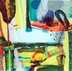 Jardin de Burhan 100 cm x 100 cm 2007