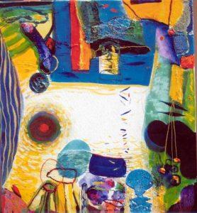 Jardin de Calvina 55 cm x 46 cm 2007