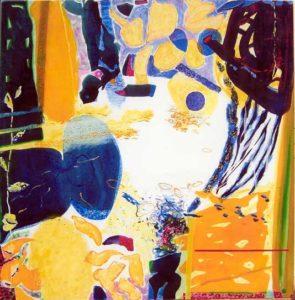 Jardin de Chadia 100 cm x 100 cm 2007