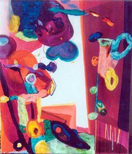 Jardin de Cesarin 55 cm x 46 cm 2008