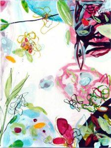 Le jardin d'Anabelle 30 cm x 40 cm 2005