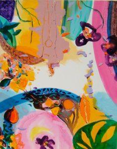 Jardin de Cirine 92 cm x 73 cm 2008