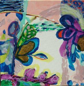 Jardin de Cybile 30 cm x 30 cm 2008