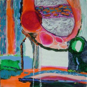 Jardin de Coralyse 40 cm x 40 cm 2008