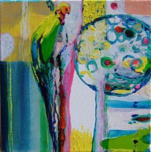 Jardin de Carmelie 30 cm x 30 cm 2008
