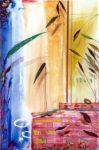 Le jardin d'Ahlima 92 cm x 60 cm 2004