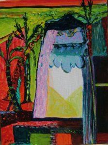 Jardin de Cyria 40 cm x 30 cm 2008