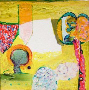 Jardin de Cybelle 30 cm x 30 cm 2008
