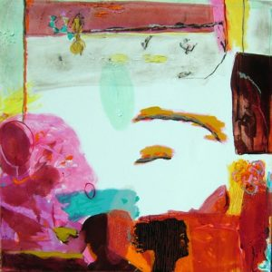 Jardin de Clavie 80 cm x 80 cm 2008