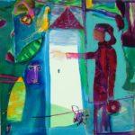 Jardin de Cyrial 100 cm x 100 cm 2008