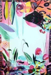 Le jardin d'Antalie 130 cm x 89 cm 2005