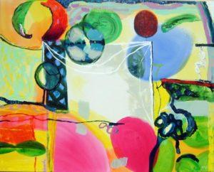 Jardin de Cyr 162 cm x 130 cm 2008