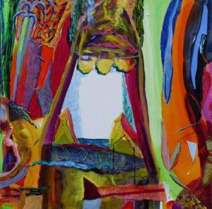 Jardin de Damaris 100 cm x 100 cm 2008