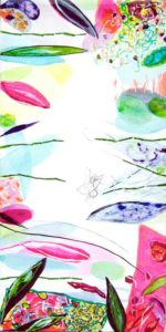Le jardin d'Anissa 80 cm x 40 cm 2005