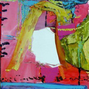 Jardin de Damijela 100 cm x 100 cm 2008