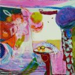 Jardin de Daline 100 cm x 100 cm 2008