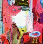 Jardin de Damiel 100 cm x 100 cm 2008