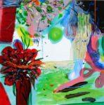 Jardin de Delice 80 cm x 80 cm 2009