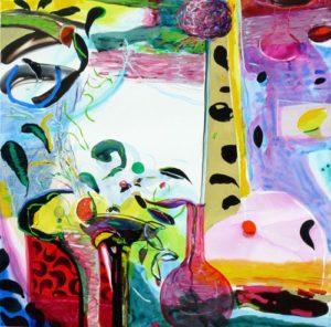 Jardin de Defne 100 cm x 100 cm 2009