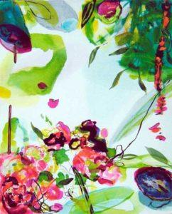 Le jardin d'Anélia 40 cm x 50 cm 2005