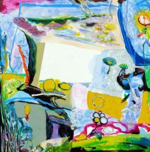 Jardin de Davia 100 cm x 100 cm 2009