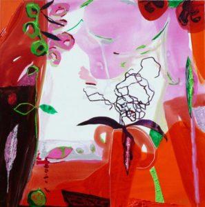 Jardin de Deanna 80 cm x 80 cm 2009