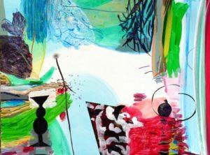 Jardin de Delizia 130 cm x 97 cm 2009
